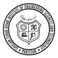 Ghulam Ishaq Khan Institute of Engineering Sciences & Technology (GIKI)